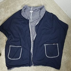 Lucky Brand cotton cardigan size small